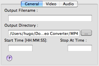generate settings of target video