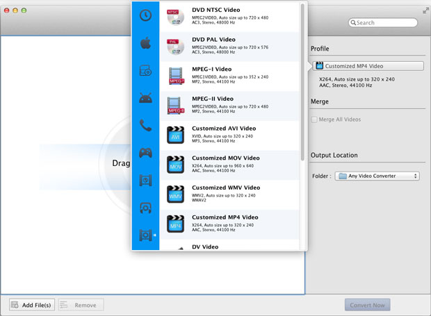 Any Video Converter Free for Mac - Free Video Converter for