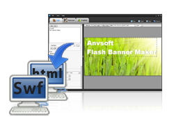 AnvSoft Flash Banner Maker - Creating banners in flash