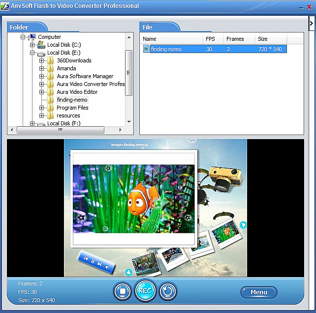 anvsoft video to 3gp converter