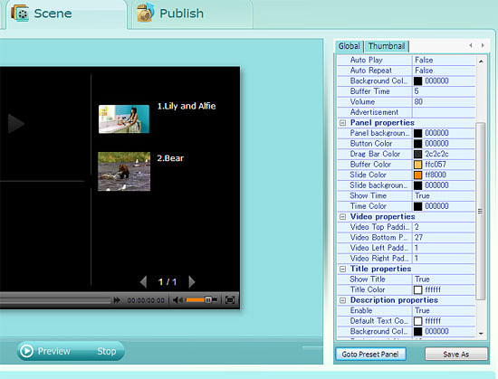 Web FLV Player Pro Screenshot