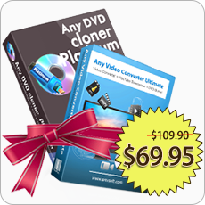 Bundle: Any DVD Cloner Platinum, Any Video Converter Ultimate