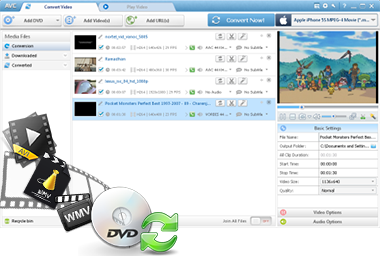 Any Video Converter - Video Converter, DVD converter, Online
