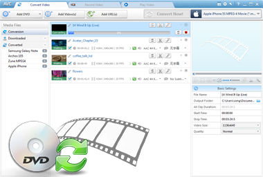 Any Video Converter Ultimate - Video Recorder, DVD Converter, DVD to ... Rip DVD & Burn Videos to DVD Disc Freely