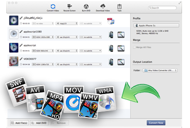 All-in-one Mac Video/Audio Converter
