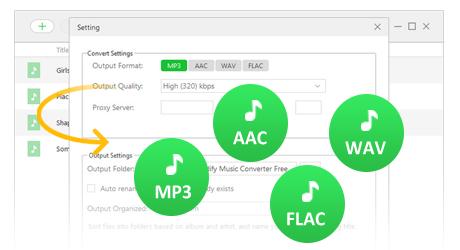 Apple Music Converter Free - Convert Apple Music to MP3/AAC/FLAC/WAV
