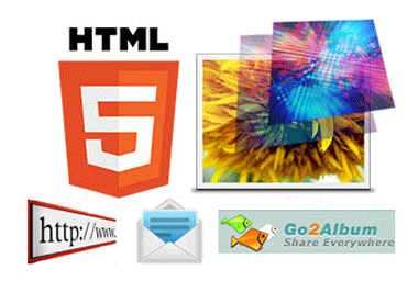 Share HTML5 photo slideshow