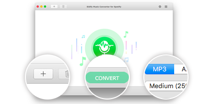 Spotify Music Converter for Mac - Decrypt and convert Spotify songs