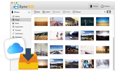 sync photo to Mac
