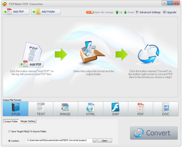 Install PDFMate Converter Free