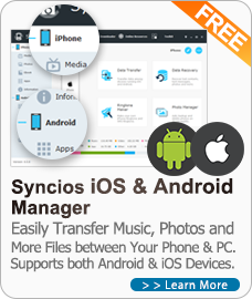Syncios Free iOS and Android Manager