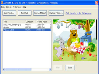 Flash to 3GP Converter 2.12